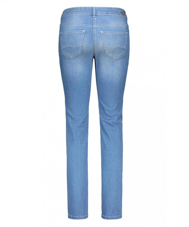 mac angela jeans slim fit light blue authentic wash. Black Bedroom Furniture Sets. Home Design Ideas