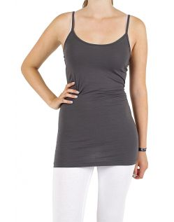Vero Moda Maxi My Long Singlet - Top - Asphalt