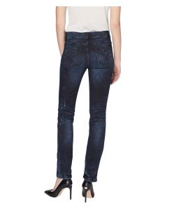 Colorado Denim Layla - dunkelblaue High Waisted Jeans - Hinten