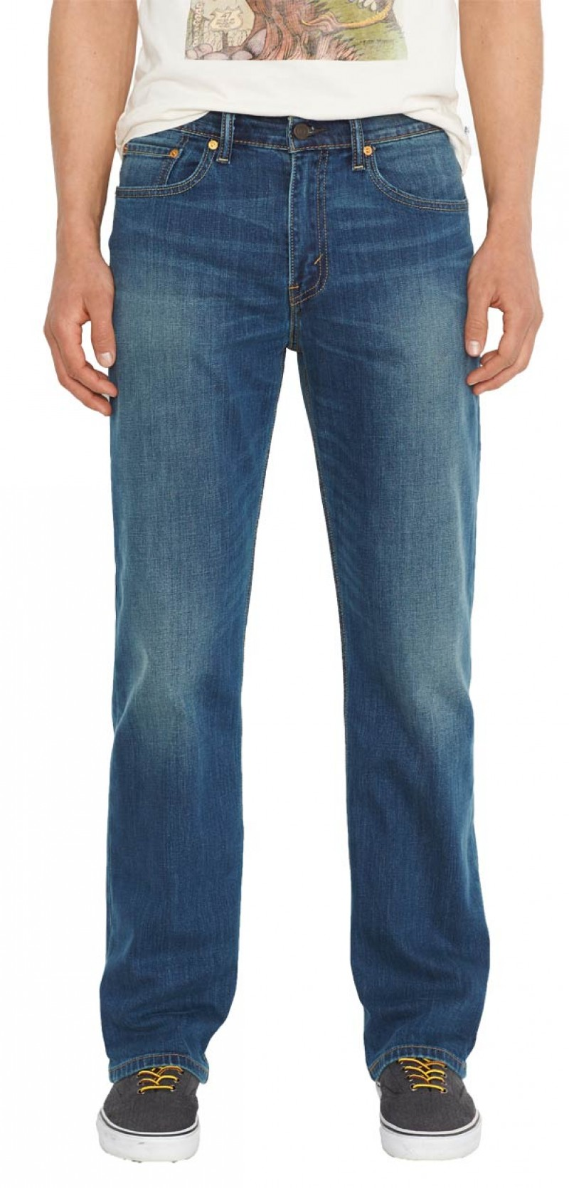 Levis 751 Jeans - Standart Fit - Brother Blue v