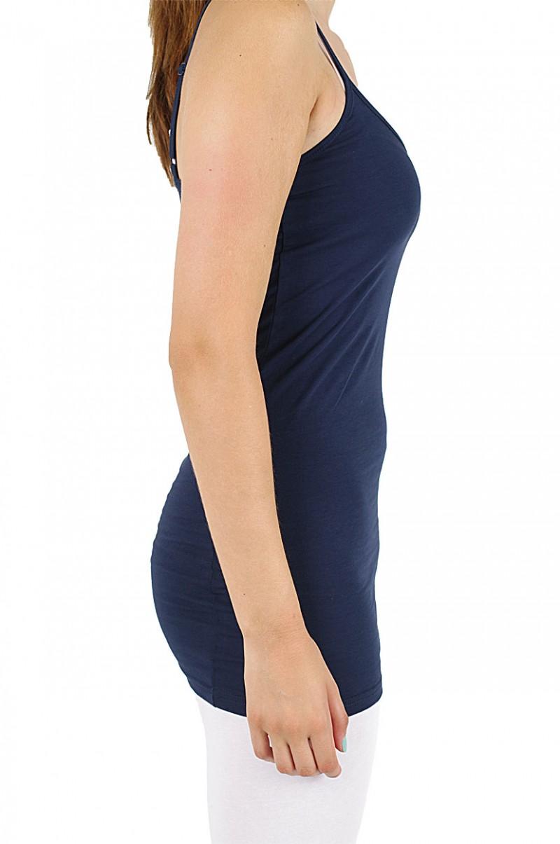 Vero Moda Maxi My Long Singlet - Top - Black Iris