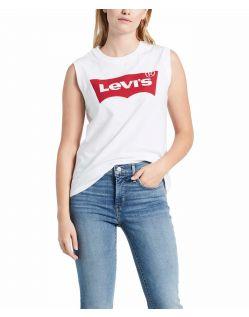 Levi's Shirt Damen ohne Ärmel mit Logo