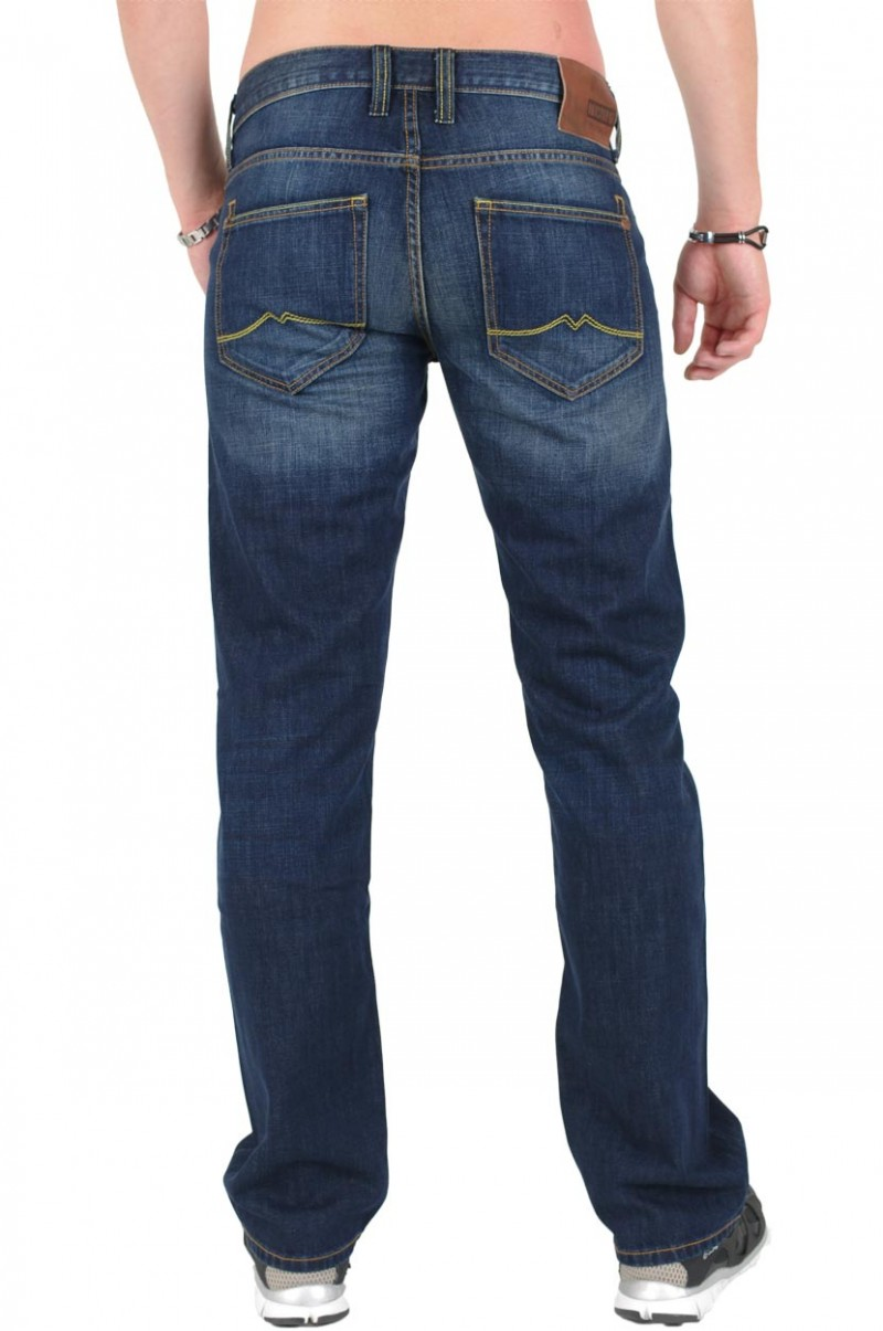 MUSTANG OREGON STRAIGHT Jeans - Slim Fit - Total Brushed