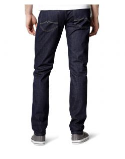 MUSTANG OREGON Taperd Jeans - Rinse Wash - Hinten