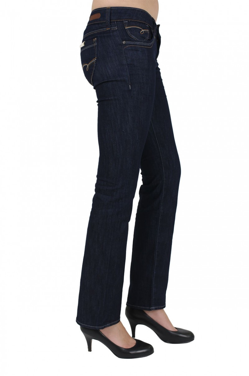 Mavi Olivia Jeans - Straight Leg - Rinse Melrose
