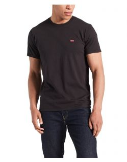 Levis Original Tee - Schwarzes T-Shirt aus Baumwolljersey