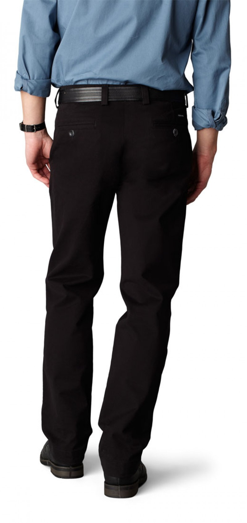 Dockers Hose - D1 Stretch Twill - Black