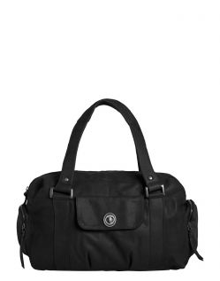 Pieces Royal - Leder Handtasche in schwarz