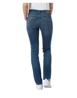 CROSS Anya Jeans - High Waisted - Medium Blue - Hinten