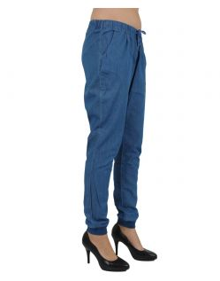Vero Moda Hose - CHAMBRAY - Medium Blue Denim - Seite