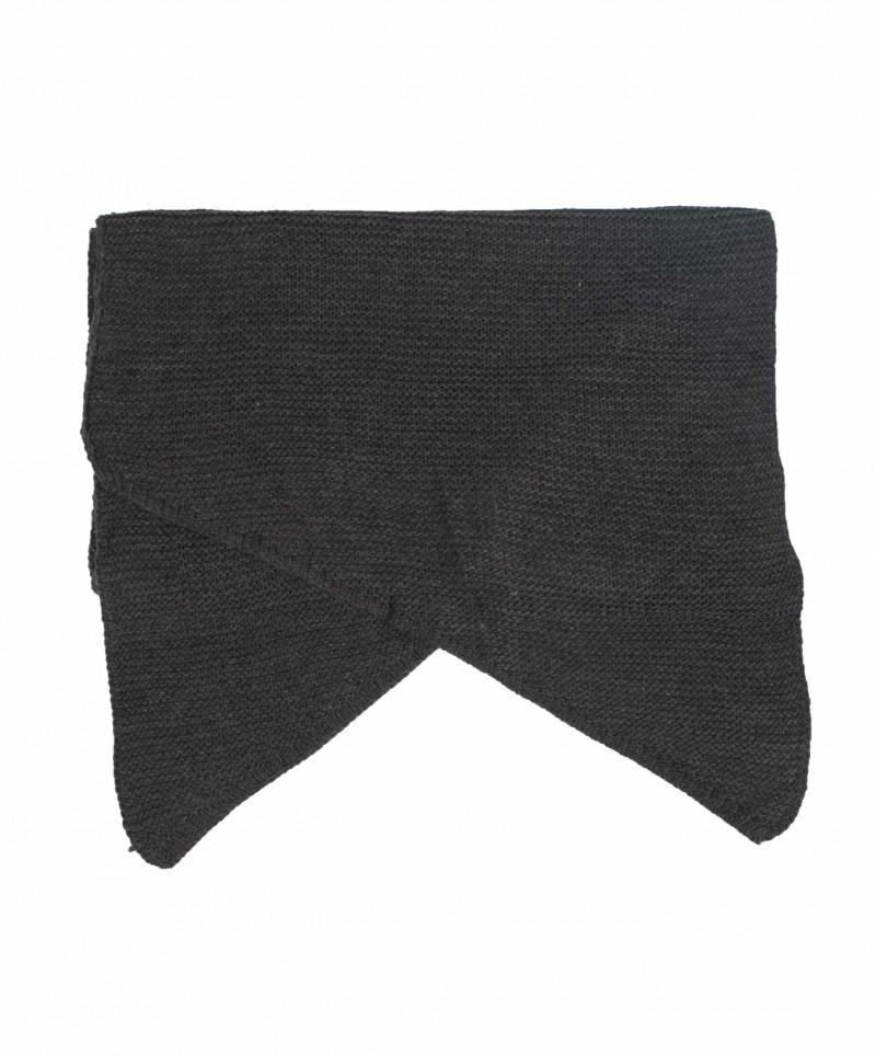 Vero Moda Misty - Gestrickter Schal - Dark Grey Melange