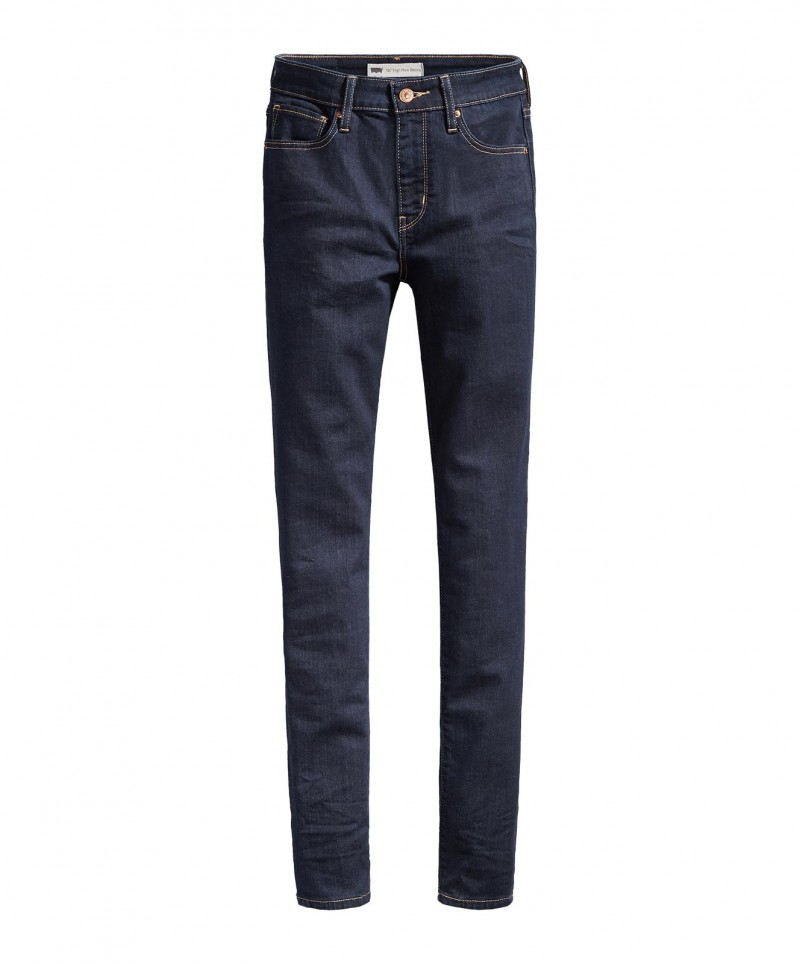 Levis 721 HIGH RISE SKINNY - Slim Fit - Lone Wolf