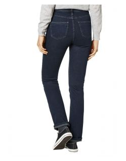 Paddocks Kate - Straight Leg Jeans in Blue Black Färbung - Hinten