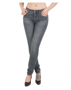 Angels Jeans Skinny - Power Stretch Grey Denim - Anthrazit