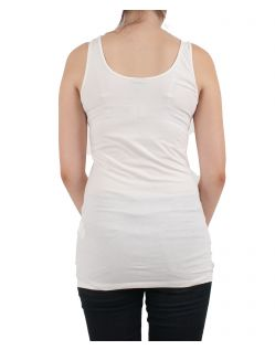 VERO MODA Tank Top - Maxi Soft - Snow White - Hinten