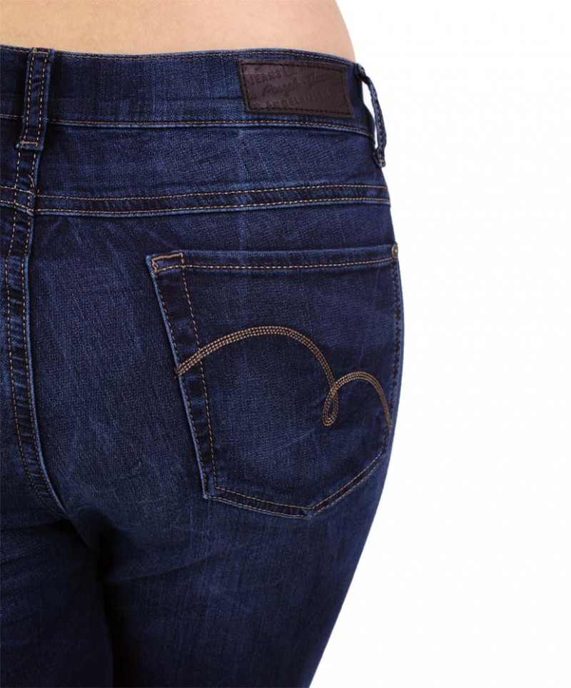 Angels Skinny Jeans - Sweat Denim - Dark Used