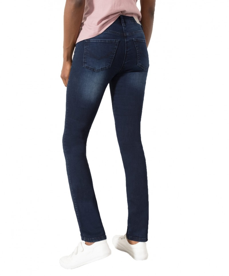 HIS MARYLIN Jeans - Slim Fit - Advanced Blue Black Wash