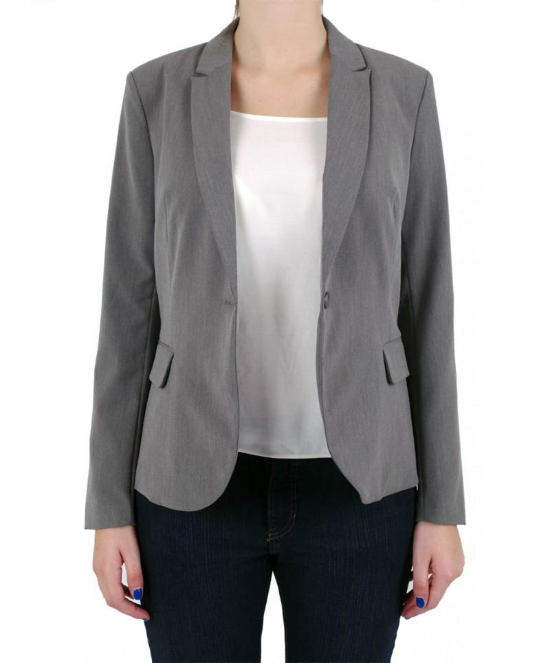 Vero Moda - Roro Blazer - Grey Melange
