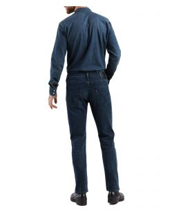 Levi's 502 - Tapered Jeans in dunkler Headed South Waschung - Hinten