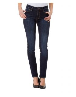 CROSS Anya - High Waisted Jeans - Dark Blue Used