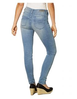 Paddock's Lucy - Enge Jeans aus hellem Vintage Denim - f02