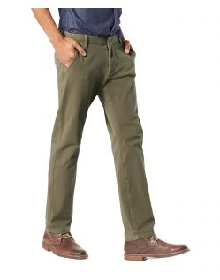DOCKERS Alpha - Smart 360 Flex Chino - Olive - Seite