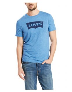 Levi's T-Shirt - Housemark Tee - Dark Blue Tri Blend