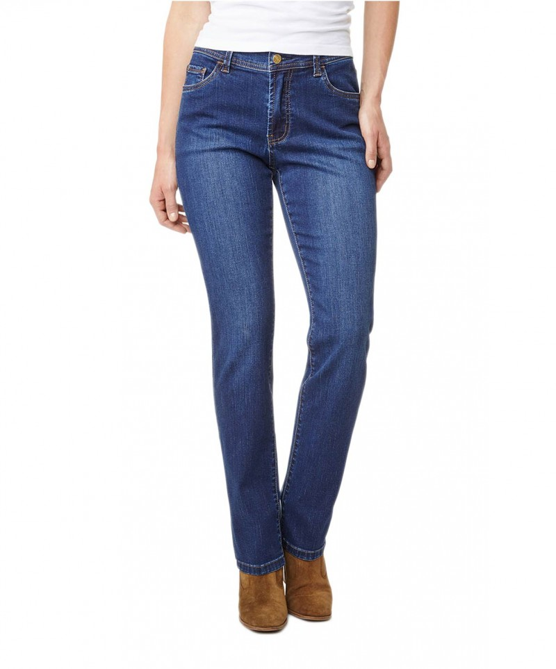 Pionner Kate Jeans - Regular Fit - Dark Blue Stone v