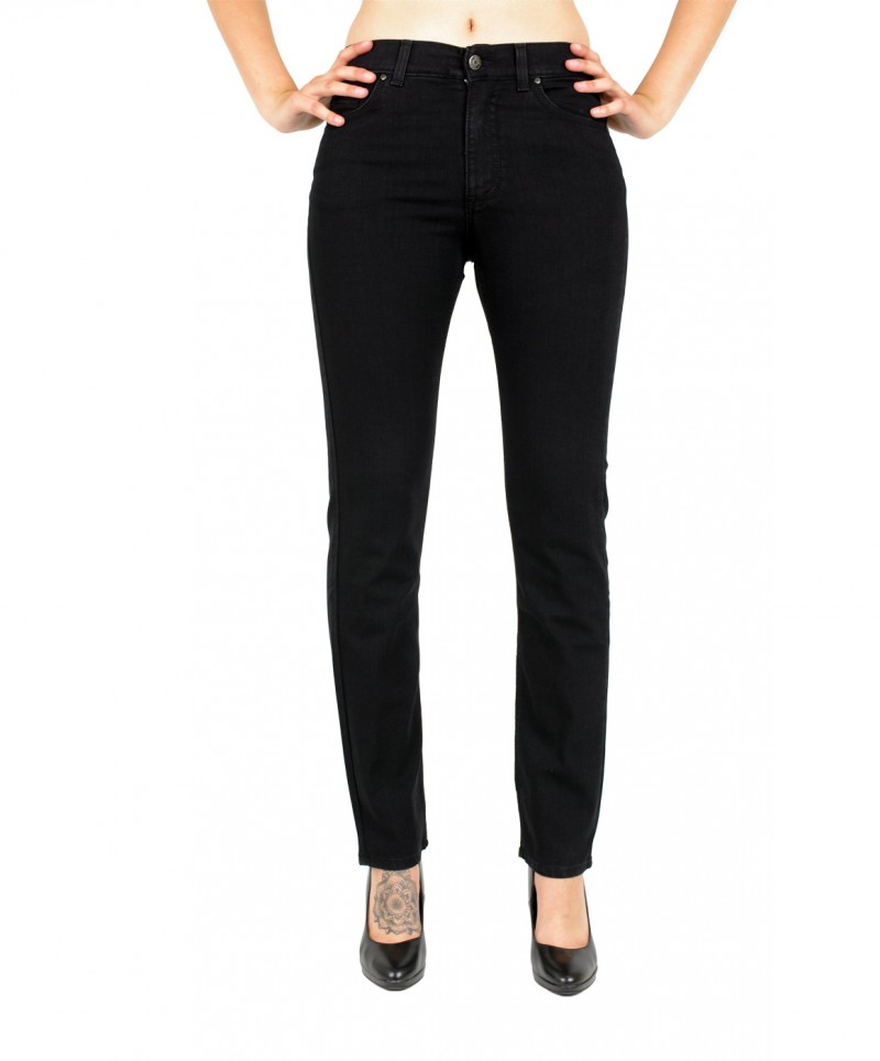 Angels Cici Jeans in JetBlack