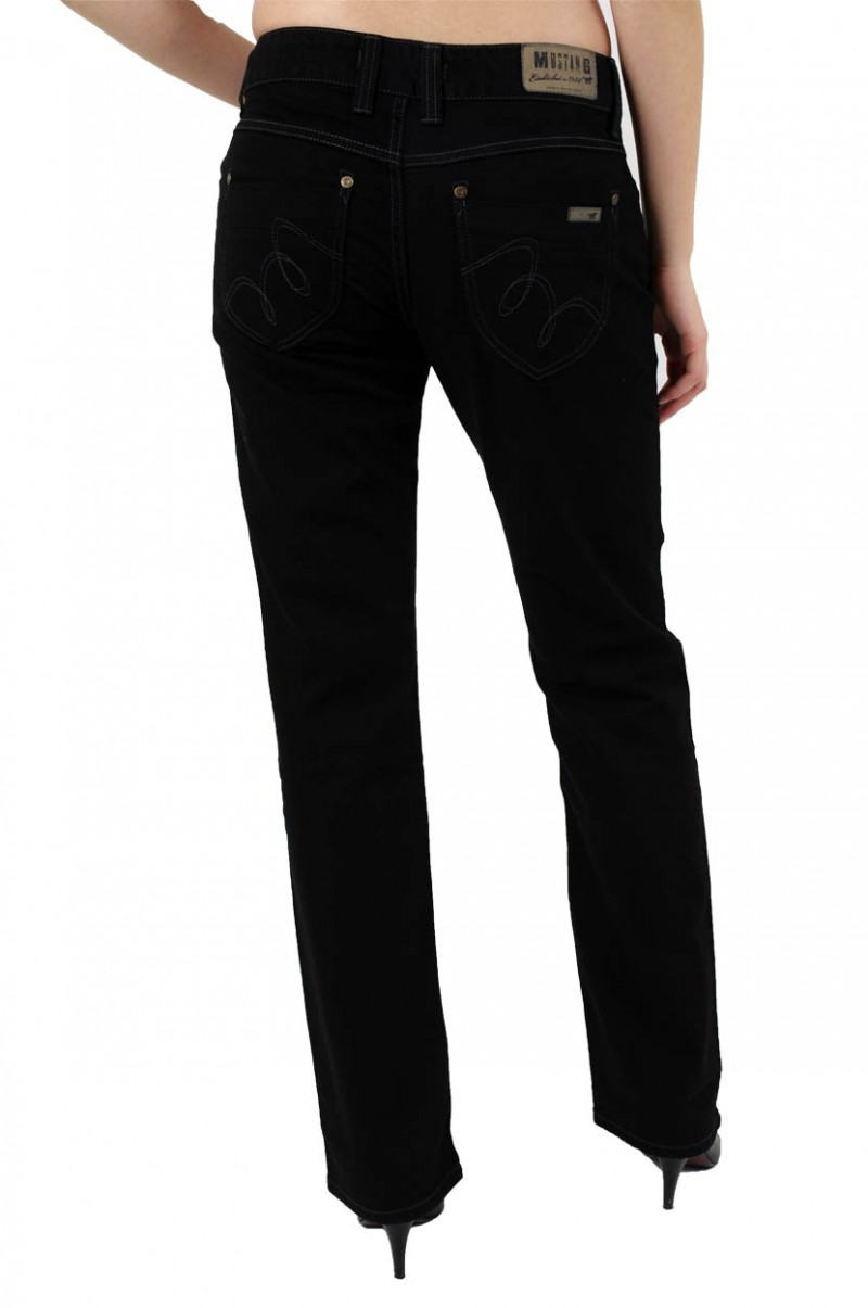 Mustang Emily Jeans - Comfort Fit - Black v