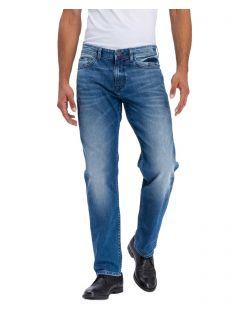 Cross Jeans Antonio - hellblaue Jeans im Relaxed Schnitt