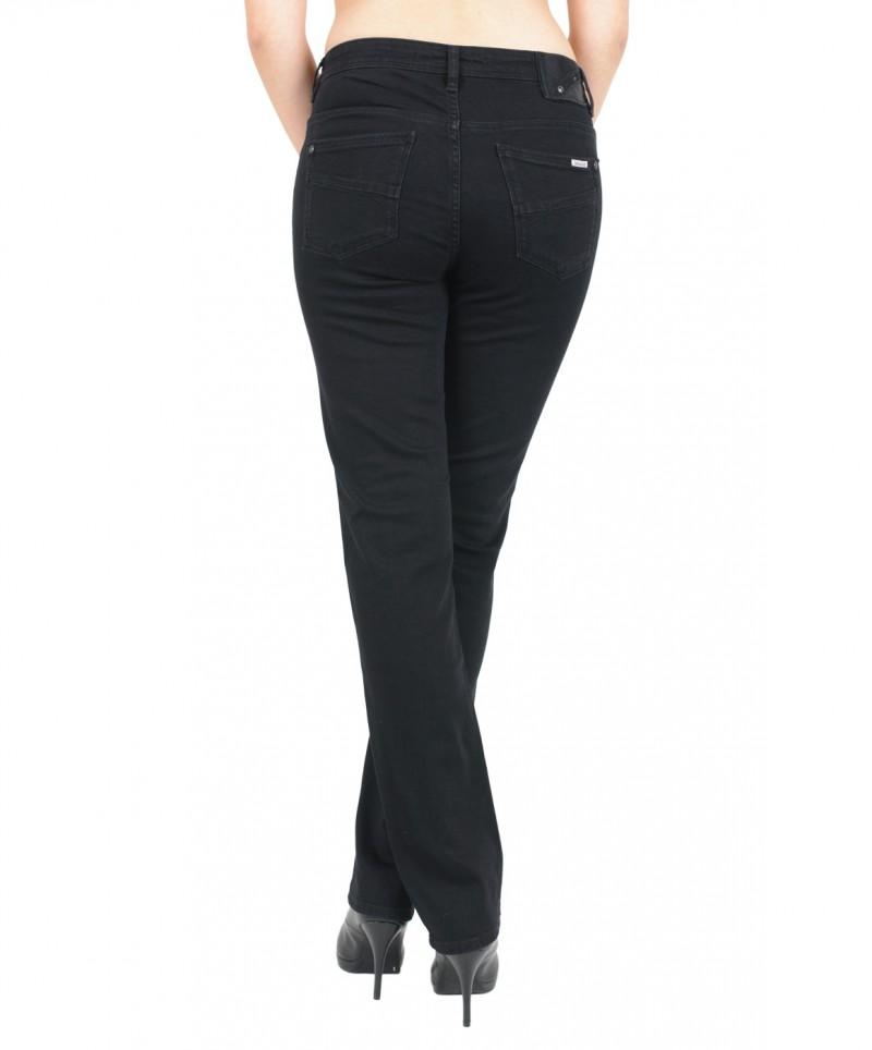 GARCIA Jeans CELIA - Straight Leg - Schwarz