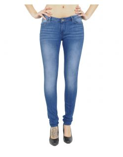 GARCIA RIVA Jeans - Slim Leg - Royal Blue Used