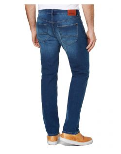 PADDOCKS Jason - Tapered Leg - Medium Blue Stone Used Moustache - Hinten