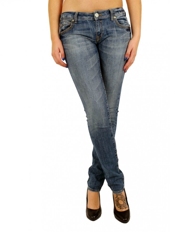 Mavi Lindy Jeans - Skinny - Mid Oxford Str