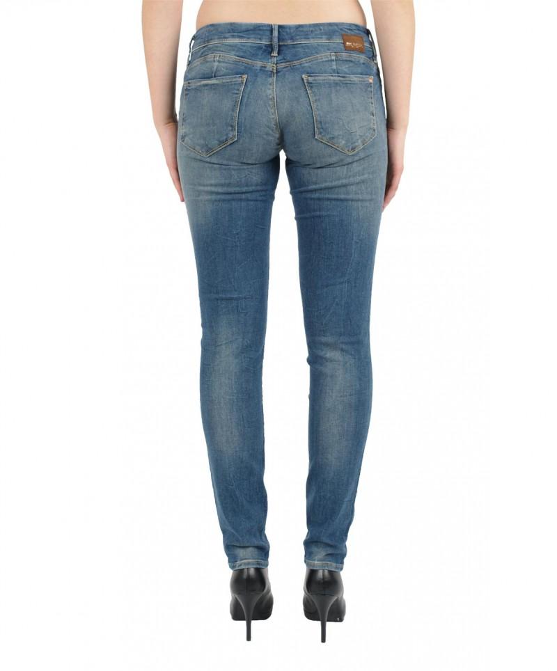 MAVI LINDY Jeans - Slim Skinny - Mid Used Ibiza