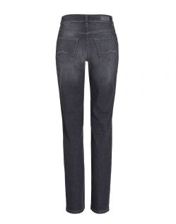 MAC MELANIE Jeans - Feminine Fit - Dark Grey Used - Hinten
