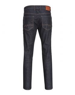 MAC ARNE PIPE - Slubby Denim - Dark Authentic Wash - Hinten