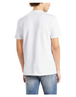 LEVI'S T-Shirt - Neck Graphic Set - Bear White - Hinten