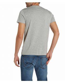 Wrangler - Graues Baumwoll T-Shirts im Zweierpack f02