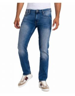 Cross Jeans Damien - Slim Straight fit Jeans im Used-Look