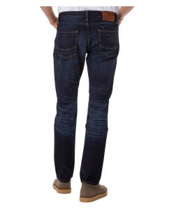 CROSS Jeans Dylan - Straight Leg - Midnight  Dark Used - Hinten