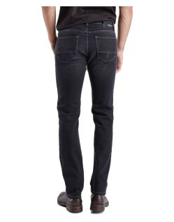 PIONEER RANDO Jeans - Black Used with Buffies - Hinten