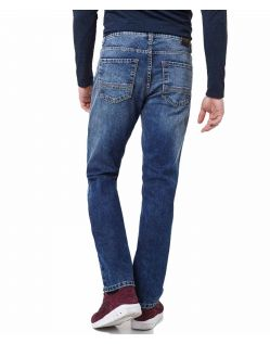 Pioneer Rando - Regular Fit Jeans in Stonewash Färbung - Hinten