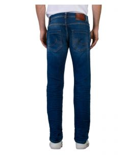 LTB Hollywood - Straight Jeans in dunkelblau - hinten