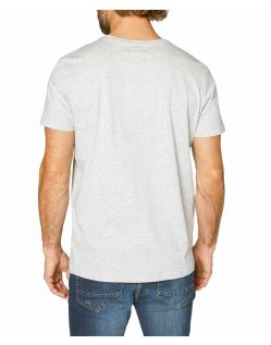 Colorado Cole –Logo T-Shirt aus Bio-Baumwolle in grau - Hinten