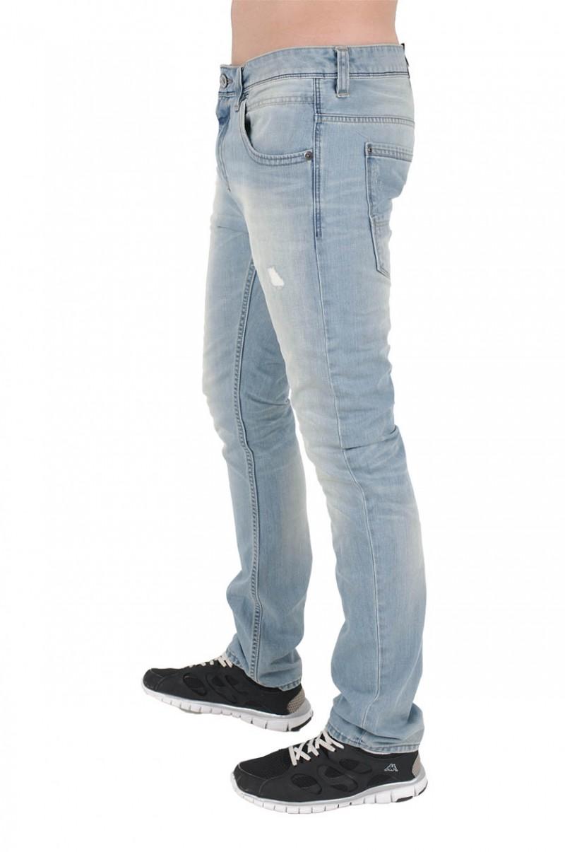 Garcia Lucco Jeans - Tarped Leg - Mountain Sky Used