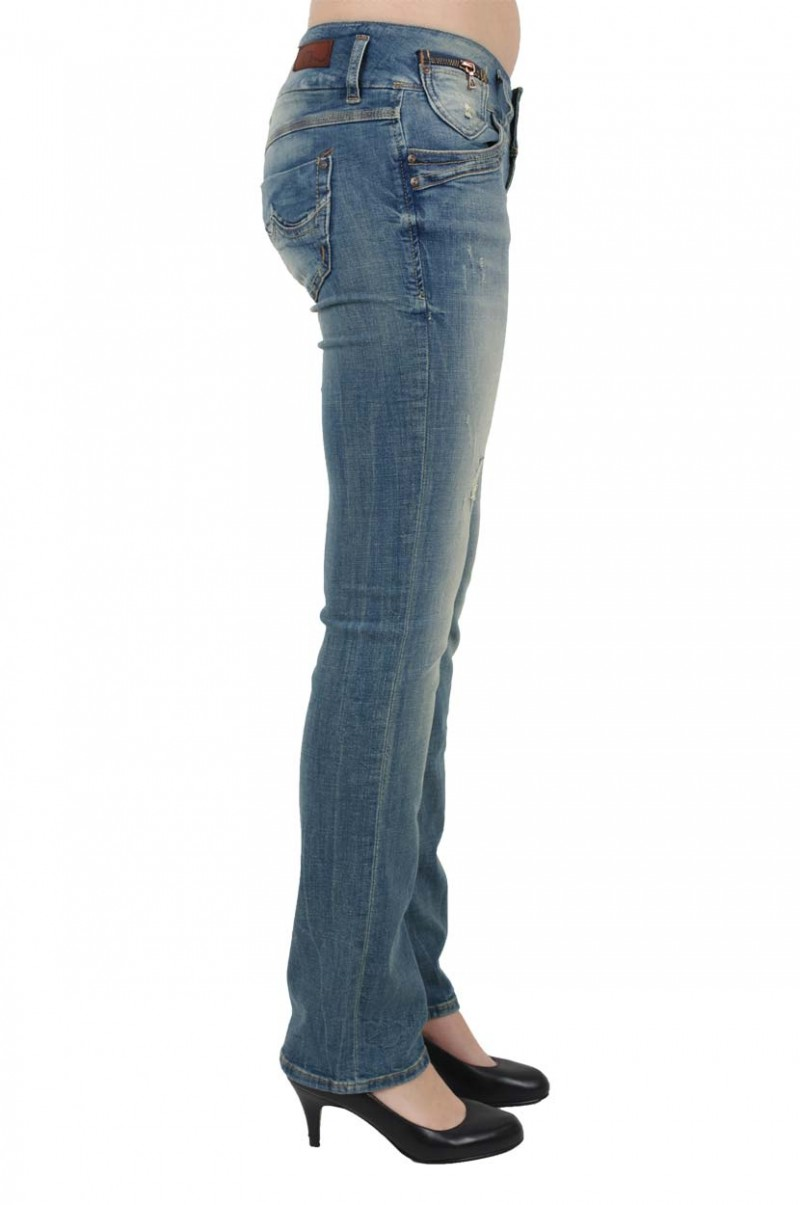 LTB Jonquil Jeans - Slim Straight - Lovia Damaged v