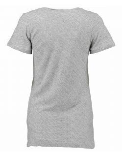 Garcia Donna - T-Shirt - Loose Fit - V-Ausschnitt - Grau - Hinten