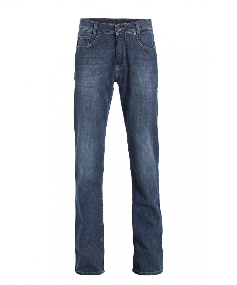 MAC ARNE Jeans - Regular Fit - Dark Blue Used